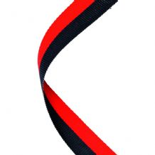 BLACK/RED RIBBON TWO COLOUR